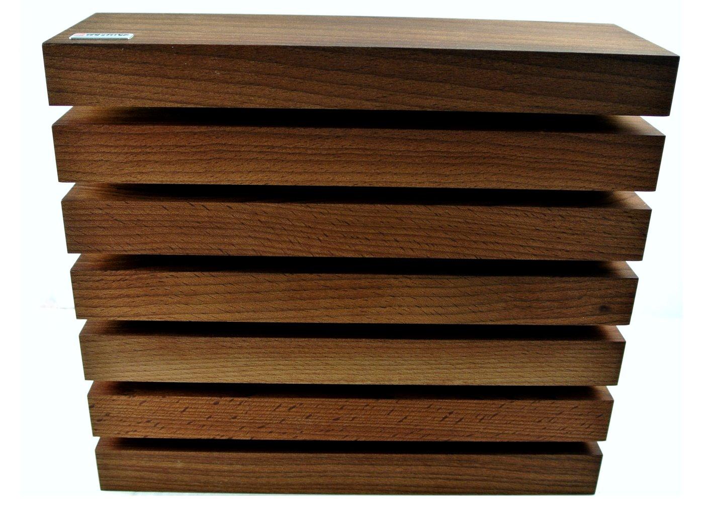 w sthof messerblock magnetisch thermobuche 6 messer messerkontor. Black Bedroom Furniture Sets. Home Design Ideas