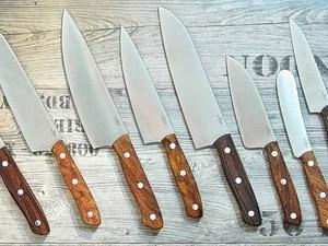 Kochmesser - Klingenlängen und Stahleigenschaften
