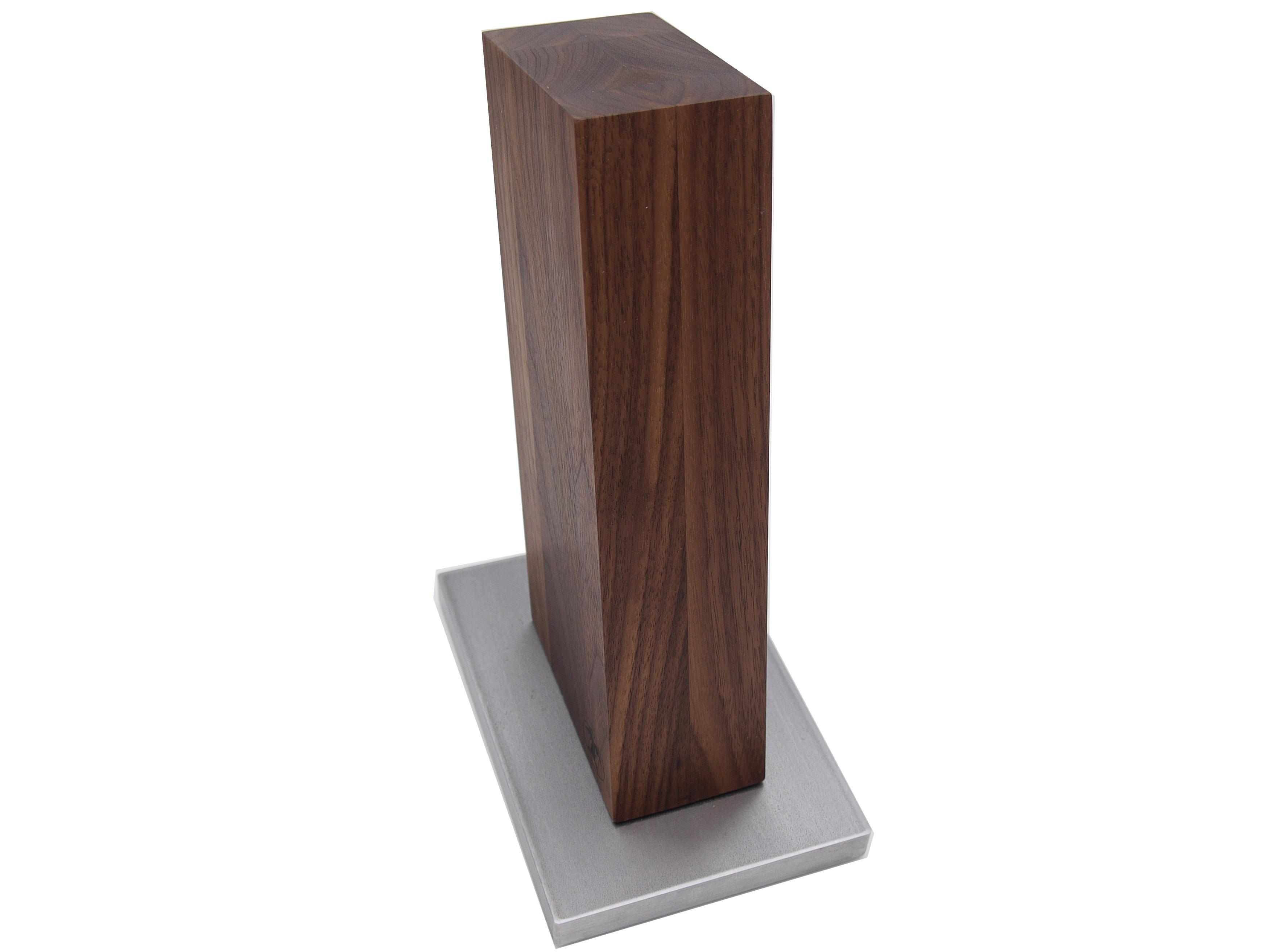 blockwerk messerblock magnetisch 13 grad nussbaum mit. Black Bedroom Furniture Sets. Home Design Ideas
